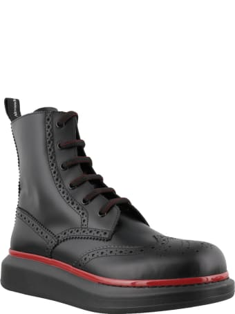Alexander McQueen Hybrid Ankle Boots