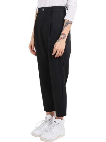 Zucca X Carvico Black Trousers