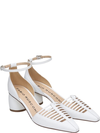 Fabio Rusconi Sandals In White Leather
