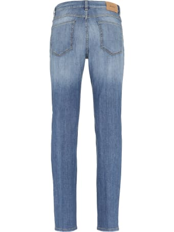 Z Zegna 5-pocket Slim Fit Jeans