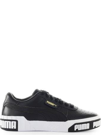 Puma Cali Bold Black Gold Sneaker