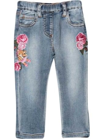 Monnalisa Blue Jeans Baby Monnalisa