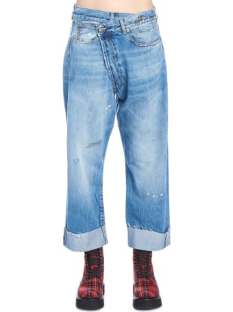 R13 'crossover' Jeans
