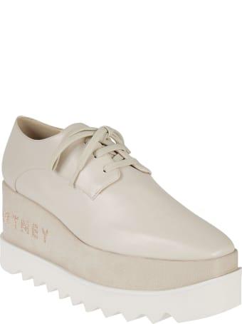 Stella McCartney Logo Wedge Oxford Shoes