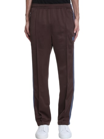 Needles Pants In Brown Polyester