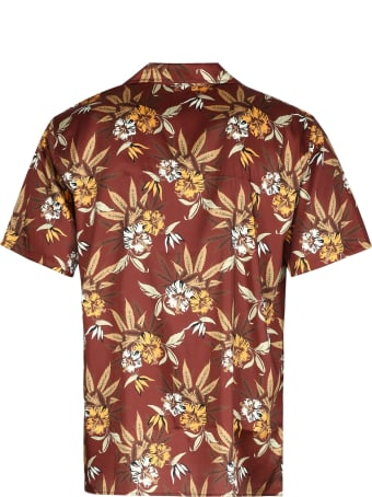 SSS World Corp Printed Short Sleeve Shirt