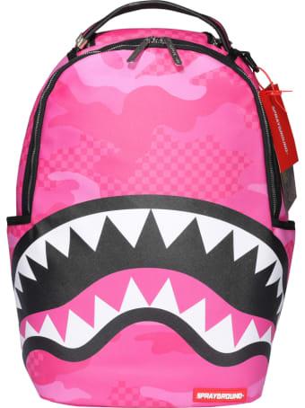 Sprayground Anime Camo Backpack