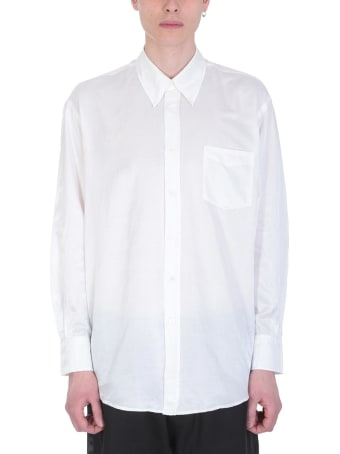 Our Legacy White Cotto And Silk Shirt