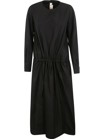 Marni Round Neck Long Dress