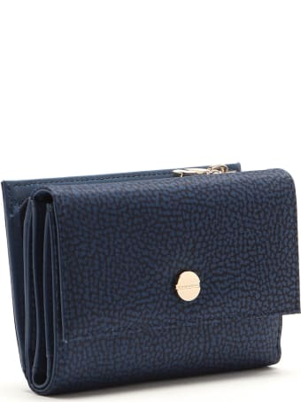 Borbonese Medium Wallet W/zip