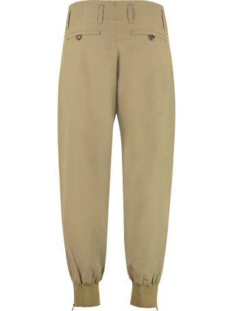 Salvatore Ferragamo Technical Fabric Pants