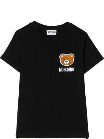 Moschino Kids Patched T-shirt