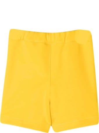 Fendi Yellow Shorts