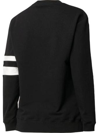 Alberta Ferretti Black Stretch-cotton Sweatshirt