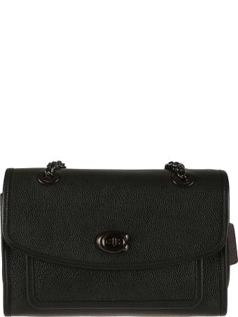 Coach Twist-lock Shoulder Bag