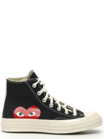 Comme des Garçons Shirt Boy Comme Des Garcons Play Chuck 70 Hi-top Sneakers