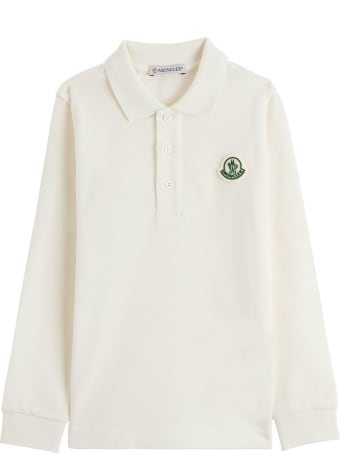 Moncler Long Sleeves Polo Shirt