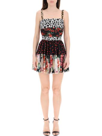 Dolce & Gabbana Patchwork Mini Dress