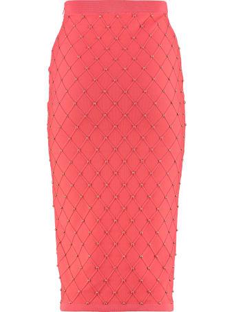 Elisabetta Franchi Celyn B. Knit Pencil Skirt