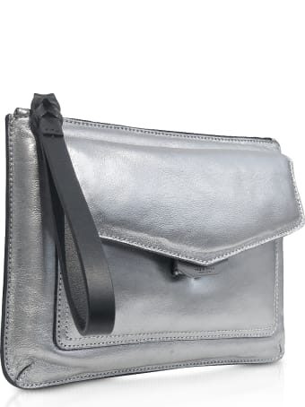 Rag & Bone Aluminum Field Wristlet Puffer