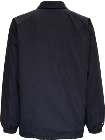 HERON PRESTON Ctnmb Nylon Jacket With Logo Print