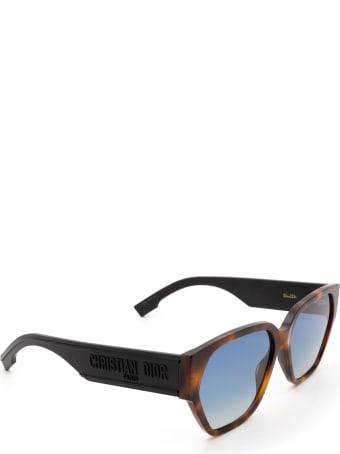 Dior Dior Diorid1 Dark Havana Sunglasses