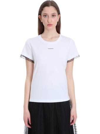 RED Valentino T-shirt In White Cotton