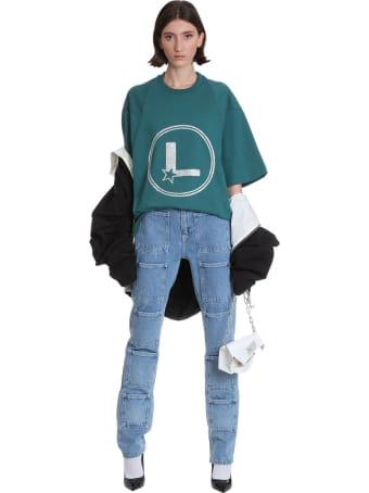 Lourdes T-shirt In Green Cotton