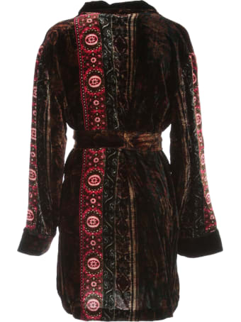 Pierre-Louis Mascia Short Printed Kimono