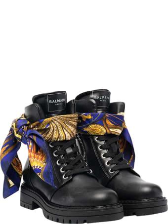 Balmain Black Boots Teen