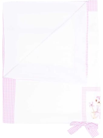 leBebé Teddy Bear Towel With Embroidery