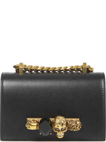 Alexander McQueen Jeweled Satchel Mini Shoulder Bag