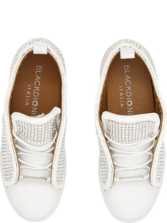 Black Dioniso Crystal Sneakers