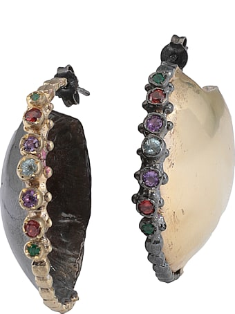Angostura Earrings With Stones