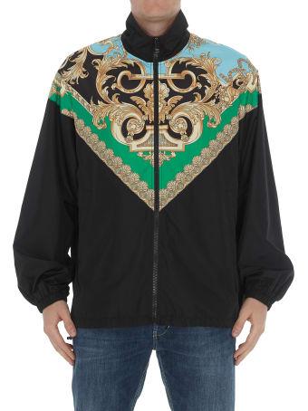 Versace Gold Barocco Print Jacket