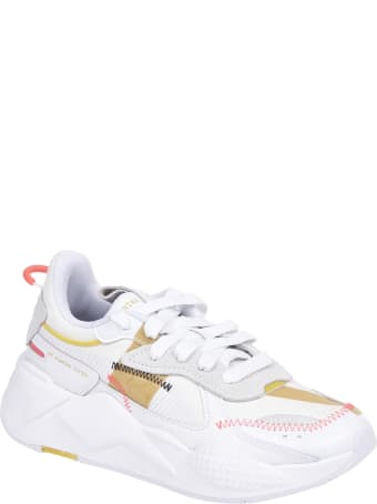 Puma White Rs-x Proto Sneakers