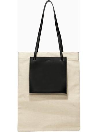 Jil Sander Pocket Flat Shopping Bag Jsms852146msb73019
