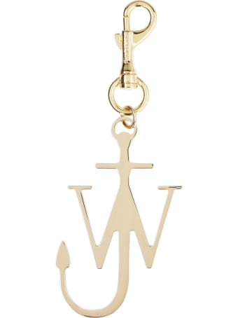 J.W. Anderson Anchor Gold Metal Key Ring Hook