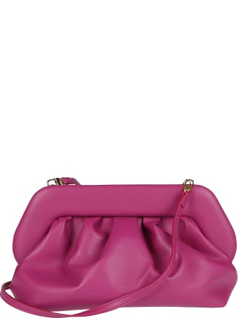 THEMOIRè Fuchsia Faux-leather Clutch Bag