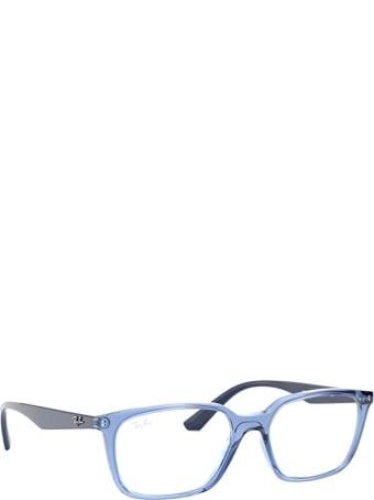 Ray-Ban Ray-ban Rx7176 Transparent Blue Glasses
