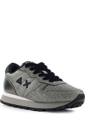 Sun 68 Sun68 Ally Solid Glitter Silver Sneaker