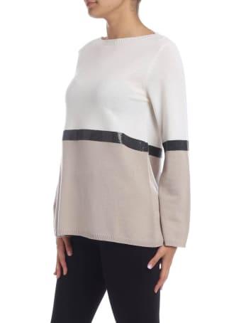 Kangra Sequin Embellished Merino Wool Pullover