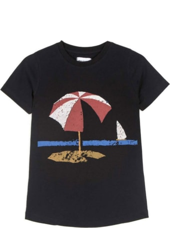 Wolf & Rita Black T-shirt For Kids