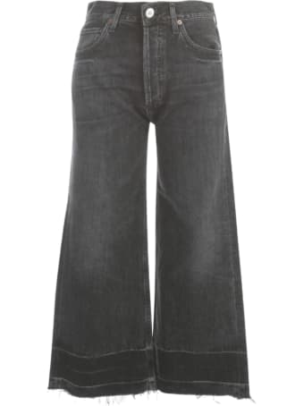 Citizens of Humanity Sasha Culotte Jeans W/fringes