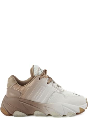 Ash White And Brown Extasi Sneakers