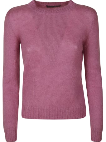 Alberta Ferretti Round Neck Sweater