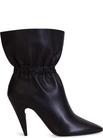 Saint Laurent Etienne Ankle Boots In Smooth Leather