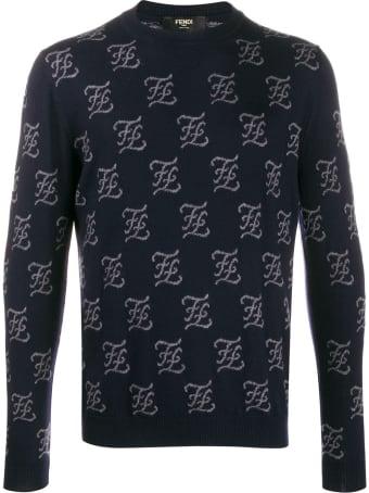 Fendi Karligraphy Allover Sweater