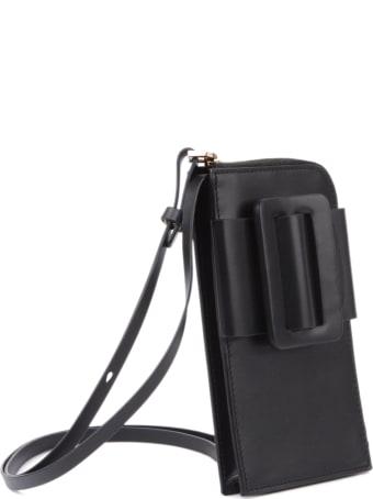 BOYY Phone Case Buckle Crossbody In Leather