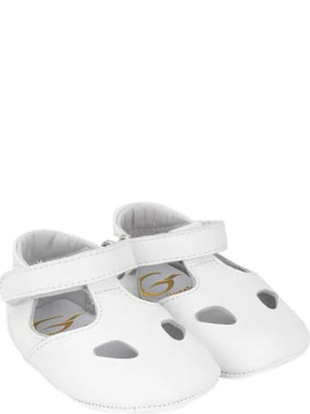 Gallucci Kids White Sandals